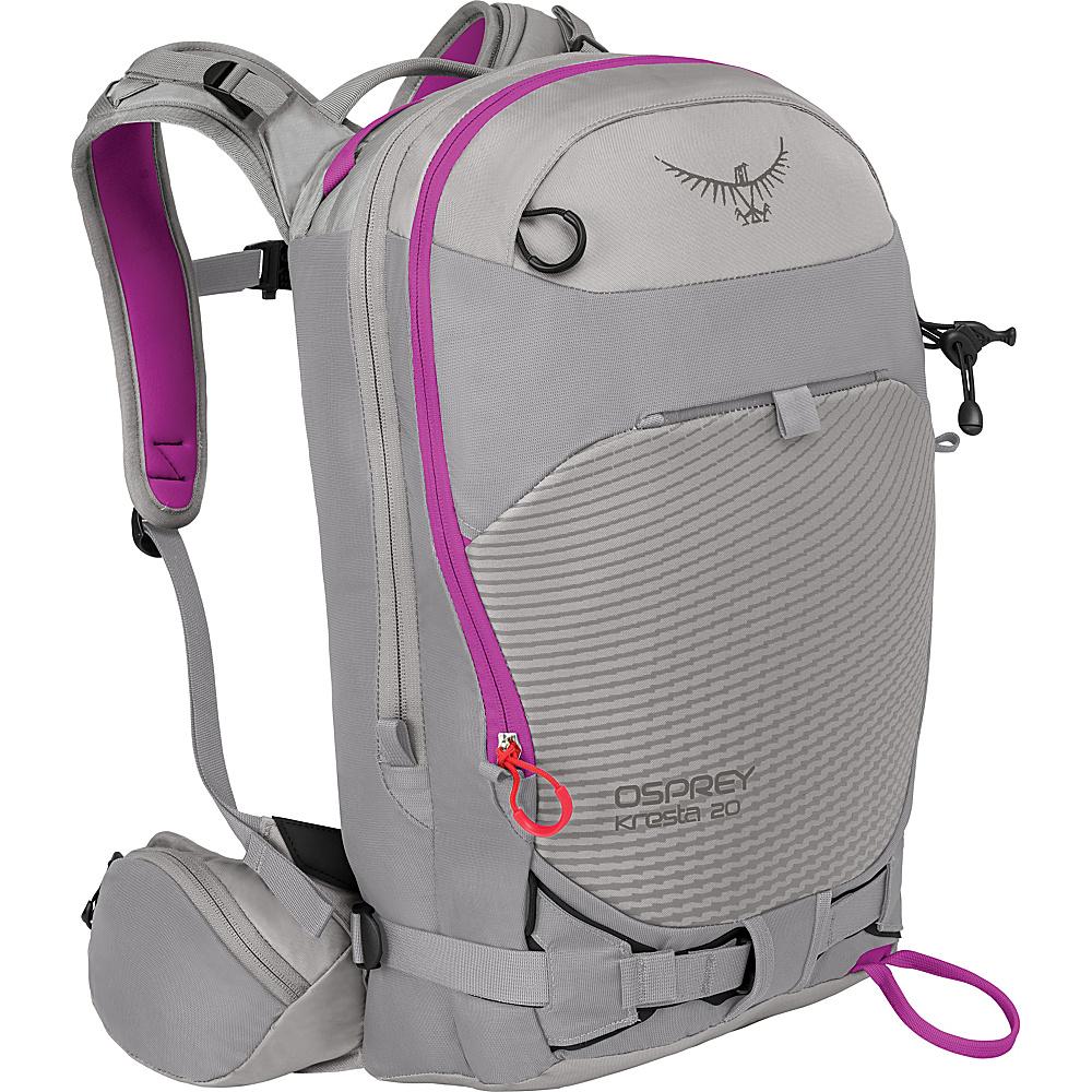 Osprey Kresta 20 Hiking Backpack Twilight Grey – XS/S - Osprey Day Hiking Backpacks - Outdoor, Day Hiking Backpacks