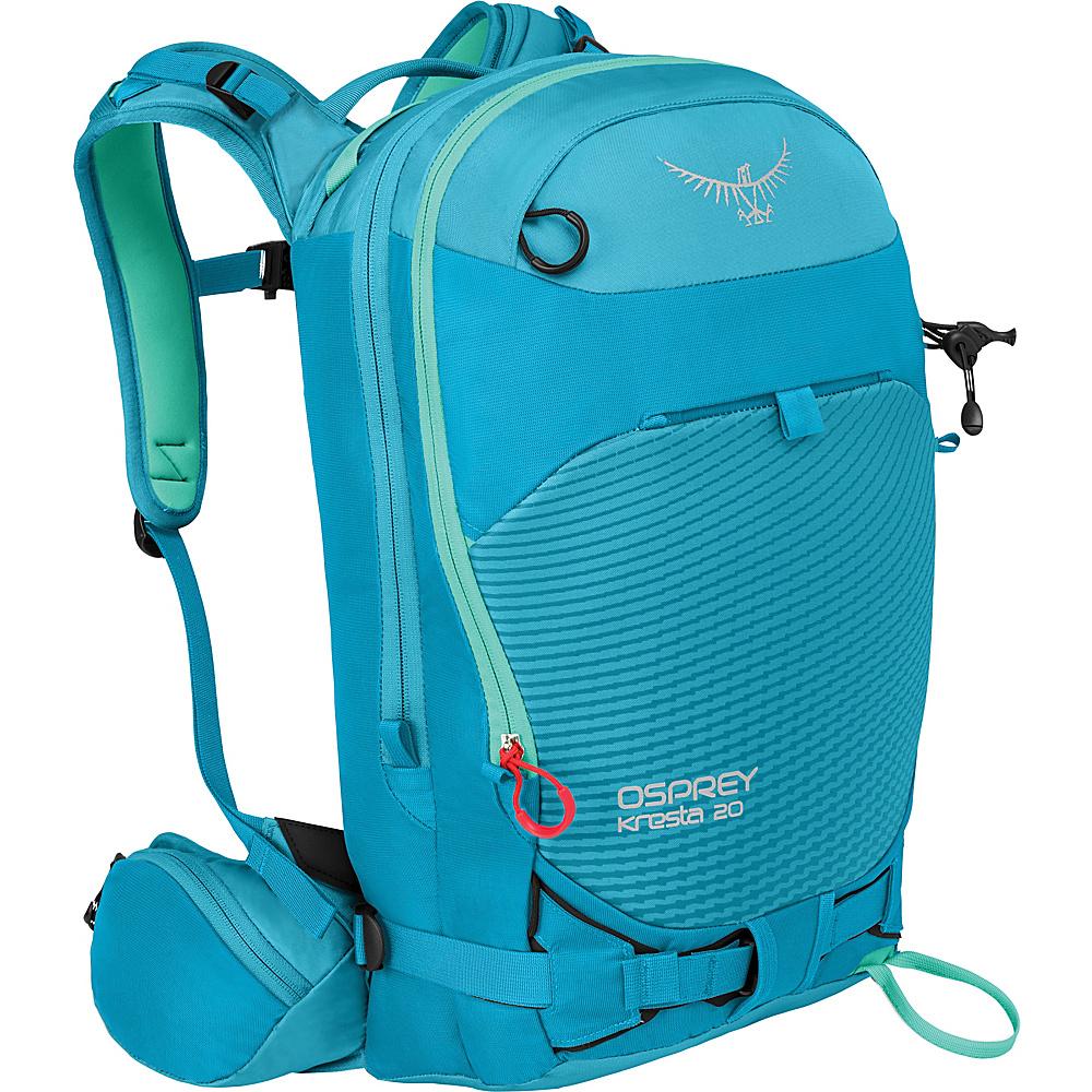 Osprey Kresta 20 Hiking Backpack Powder Blue – XS/S - Osprey Day Hiking Backpacks - Outdoor, Day Hiking Backpacks
