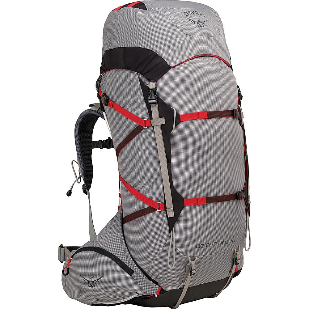 Osprey Aether Pro 70 Hiking Backpack Kepler Grey – SM - Osprey Backpacking Packs - Outdoor, Backpacking Packs