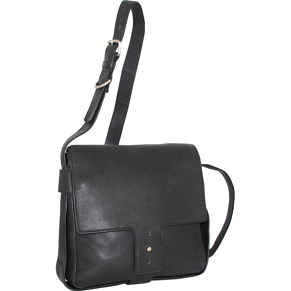 Nino Bossi Carmen Crossbody Black - Nino Bossi Leather Handbags - Handbags, Leather Handbags