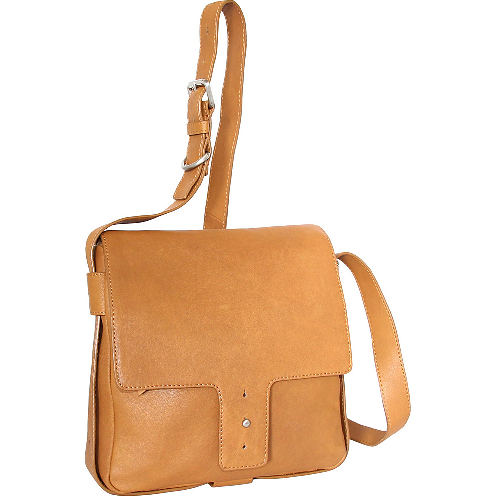 Nino Bossi Carmen Crossbody Cognac - Nino Bossi Leather Handbags - Handbags, Leather Handbags