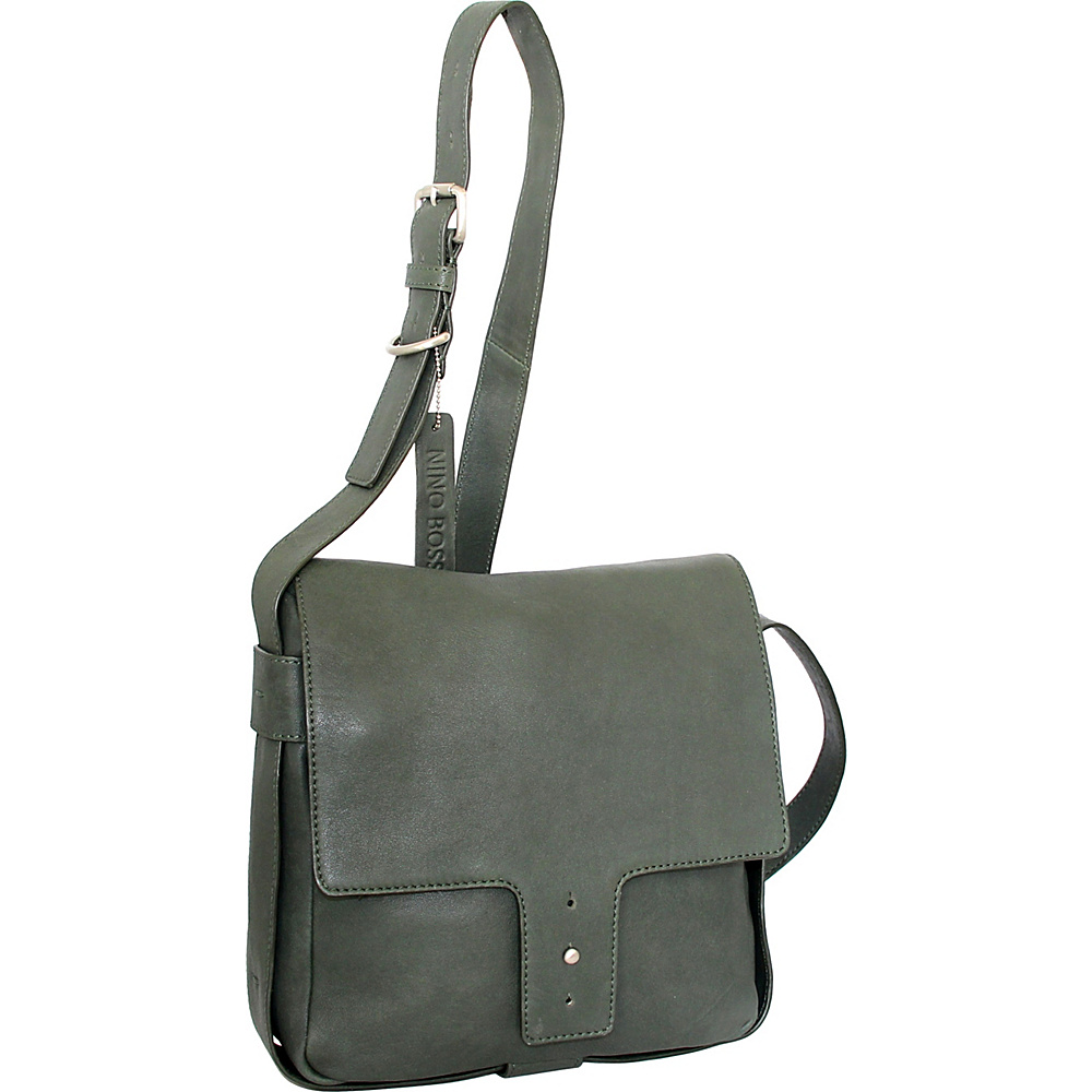 Nino Bossi Carmen Crossbody Moss - Nino Bossi Leather Handbags - Handbags, Leather Handbags
