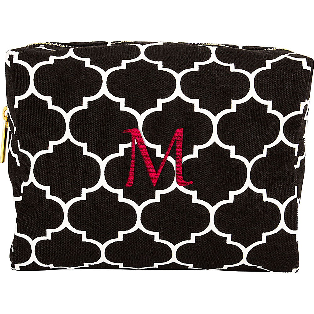 Cathys Concepts Monogram Cosmetic Bag Black - M - Cathys Concepts Toiletry Kits - Travel Accessories, Toiletry Kits