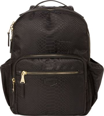 "Image of Aimee Kestenberg Amelia Women's 15"" RFID Laptop Backpack - eBags Exclusive Black Jacquard - Exclusive - Aimee Kestenberg Business & Laptop Backpacks"