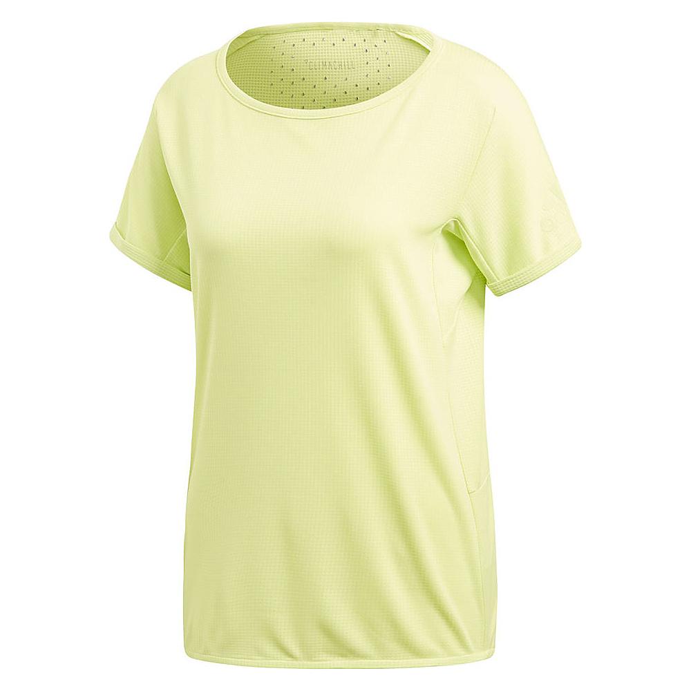 adidas outdoor Womens Climachill Tee S - Semi Frozen Yellow - adidas outdoor Womens Apparel - Apparel & Footwear, Women's Apparel