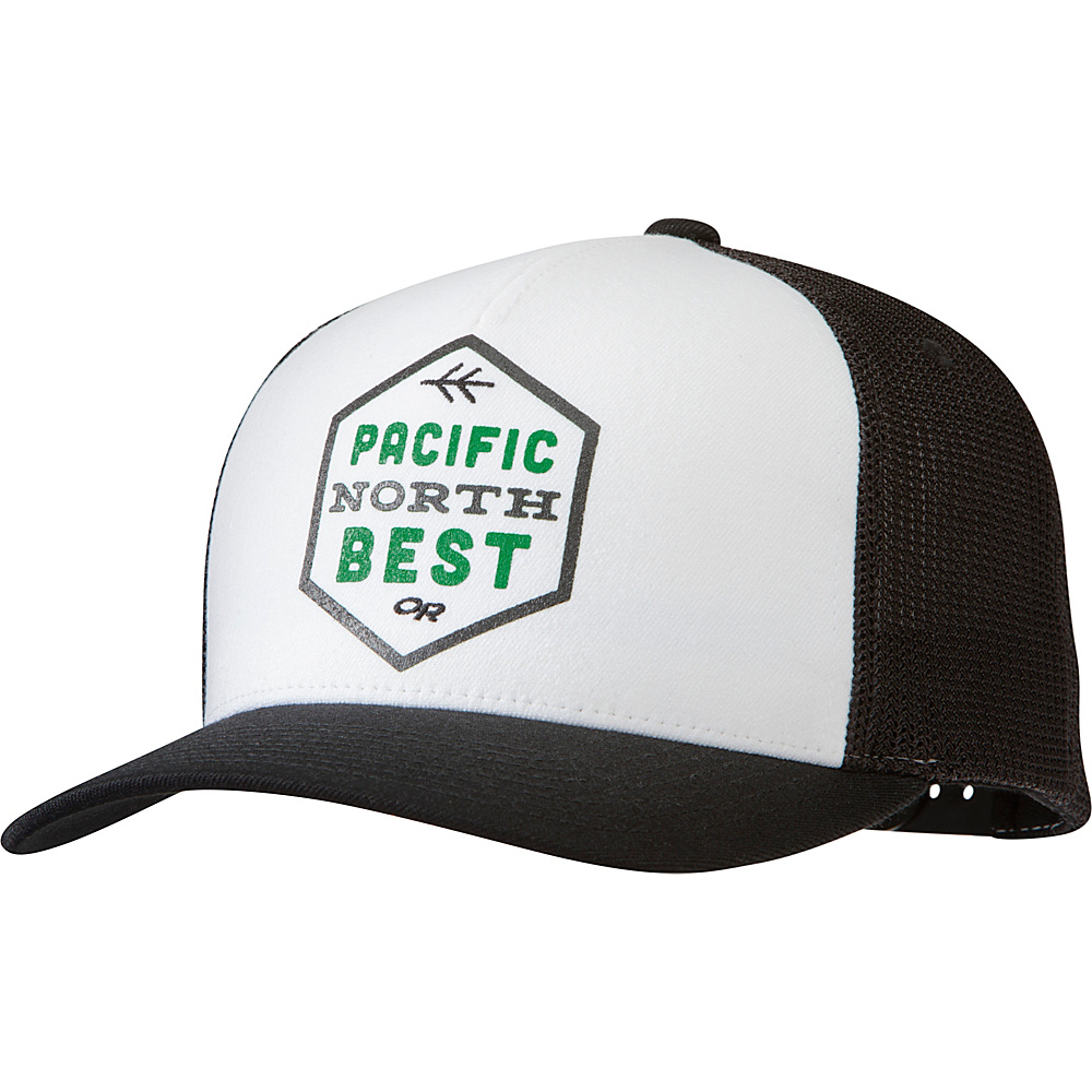 Outdoor Research Pacific Northbest Trucker Cap One Size - Black - Outdoor Research Hats/Gloves/Scarves - Fashion Accessories, Hats/Gloves/Scarves