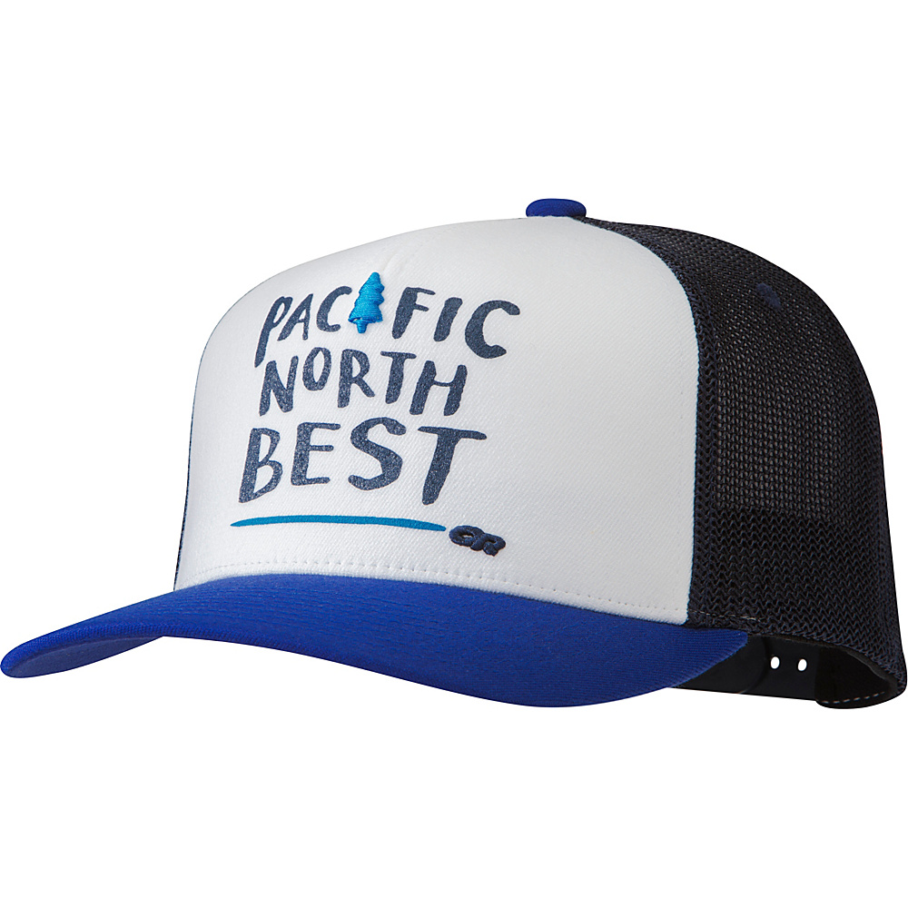 Outdoor Research Pacific Northbest Trucker Cap One Size - Baltic - Outdoor Research Hats/Gloves/Scarves - Fashion Accessories, Hats/Gloves/Scarves