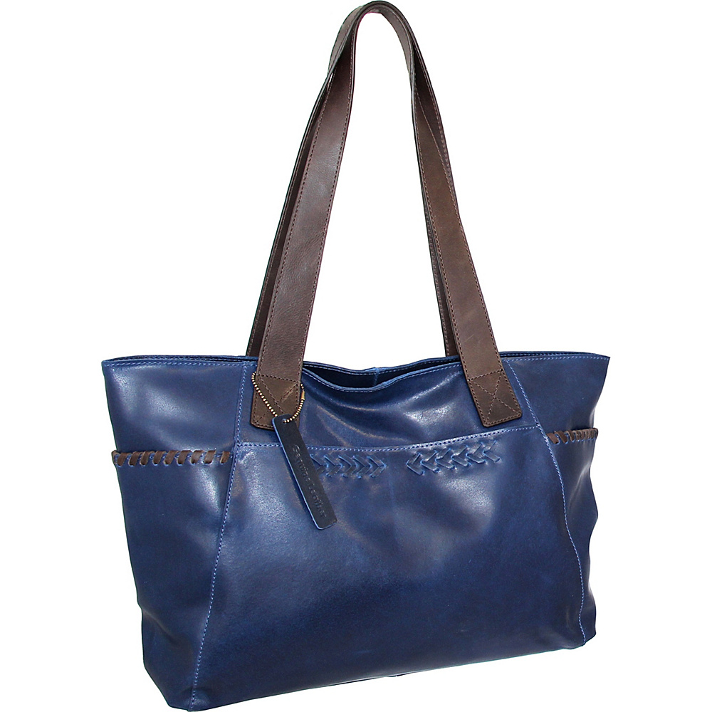 Nino Bossi Halley Tote Denim - Nino Bossi Leather Handbags - Handbags, Leather Handbags