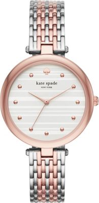 kate spade watches Two-Tone Varick Watch Pink - kate spad...