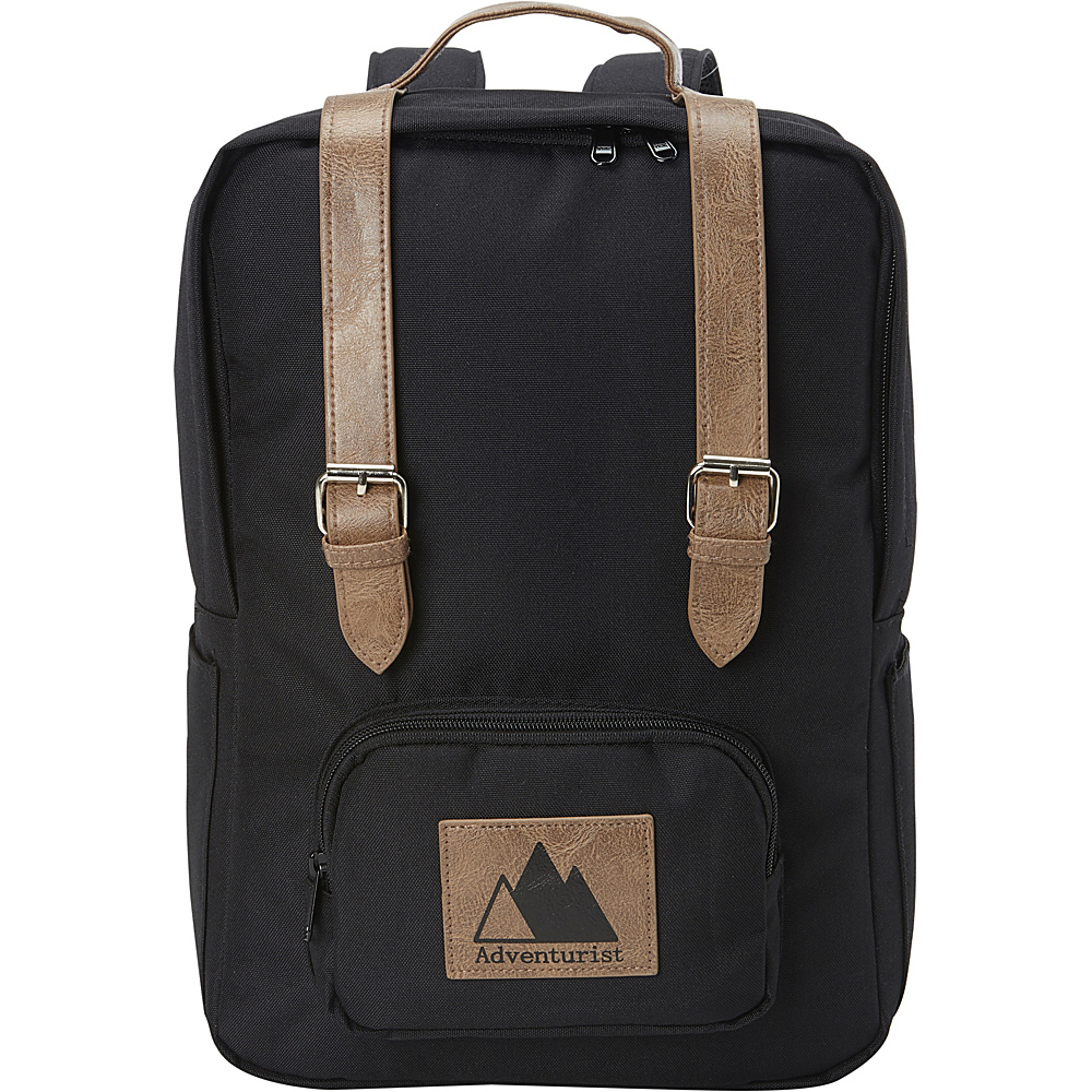 Image of Adventurist Backpack Co Classic Laptop Backpack Black - Adventurist Backpack Co Business & Laptop Backpacks