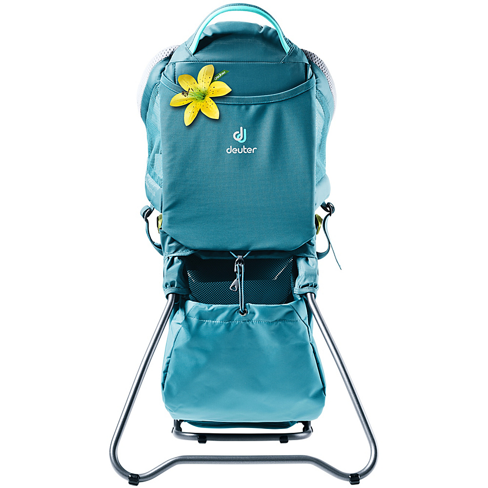 Deuter Kid Comfort Active SL Kid Carrier Denim - Deuter Baby Carriers Kid Comfort Active SL Kid Carrier Denim. For mothers that hold their own and want a child carrier that is meant for them.
