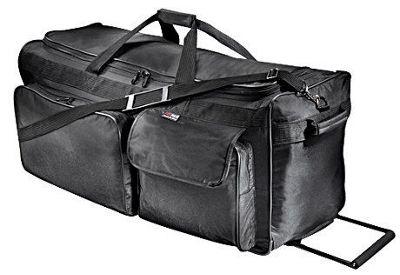"Netpack 30"" Ballistic Wheeled Duffel - Black"