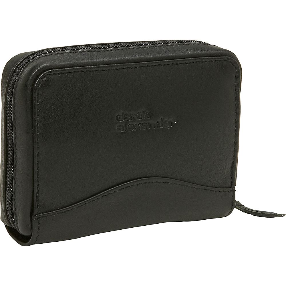 Derek Alexander Accardian Credit Card Holder - Black - Women's SLG, Women's Wallets