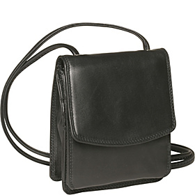 Shoulder/Belt Wallet on a String Black