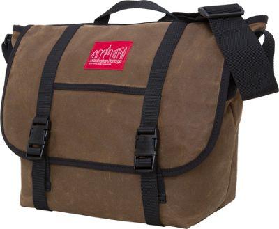 Manhattan Portage Waxed Canvas Messenger Bag - Medium Field Tan - Manhattan Portage Messenger Bags