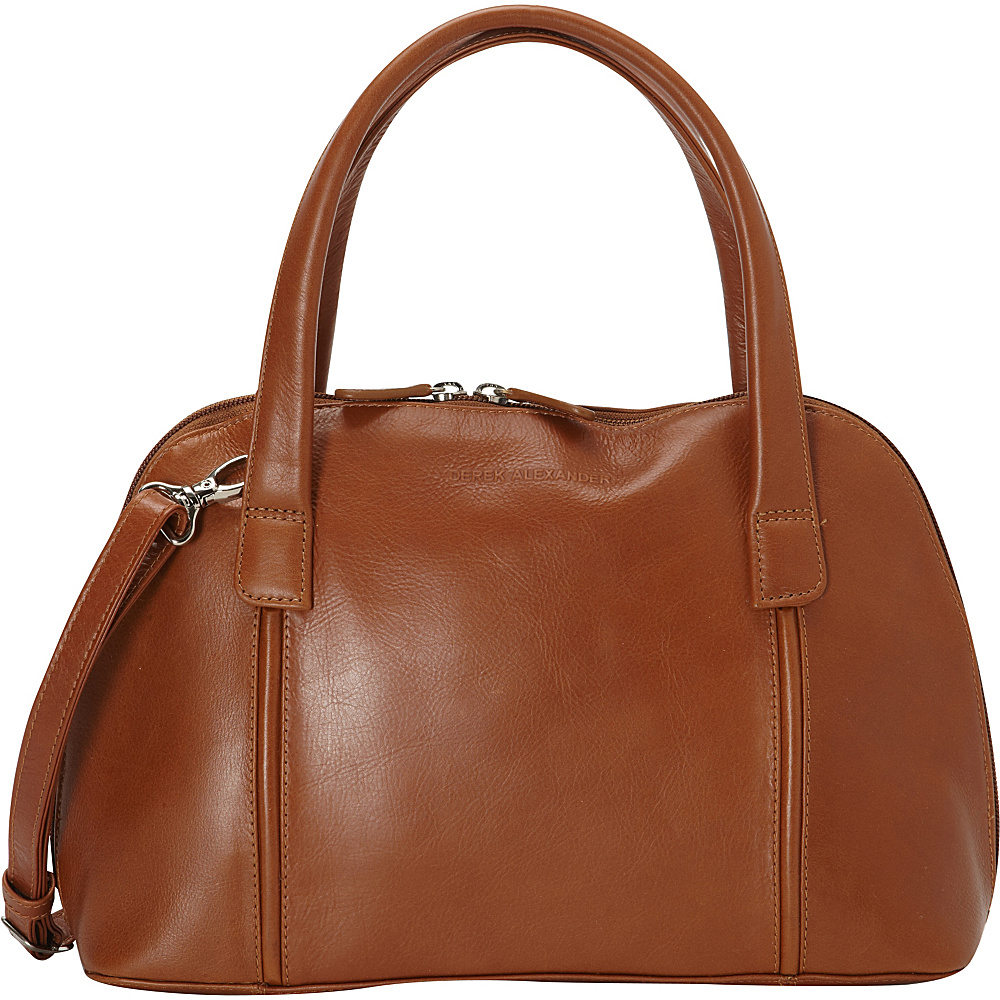 Derek Alexander Double Handle Zip Around - Tan - Work Bags & Briefcases, Women's Business Bags