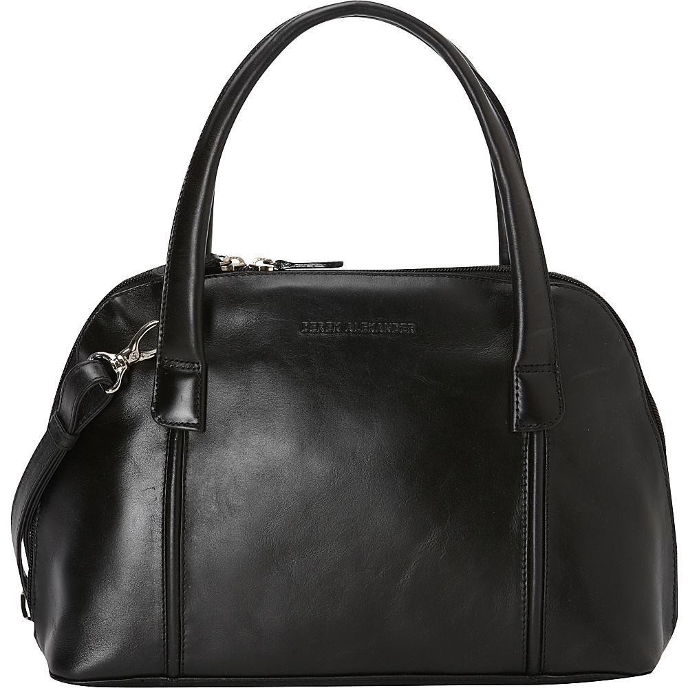 Derek Alexander Double Handle Zip Around - Black - Work Bags & Briefcases, Women's Business Bags