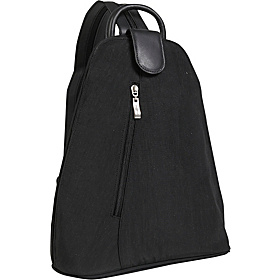 Urban Backpack Bagg Crinkle Nylon Black