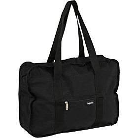 Bagg in a Pouch Medium Crinkle Nylon Black
