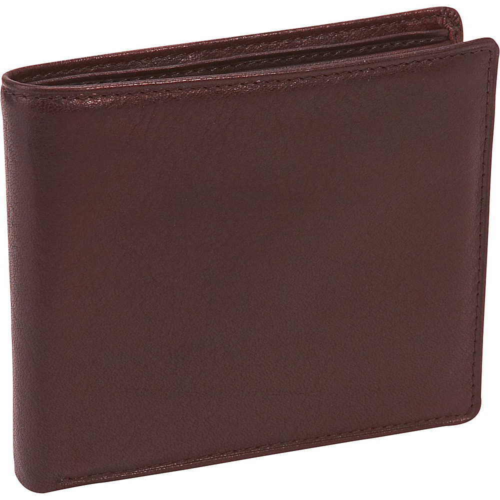 Osgoode Marley Cashmere Extra Page Billfold - Brandy - Work Bags & Briefcases, Men's Wallets