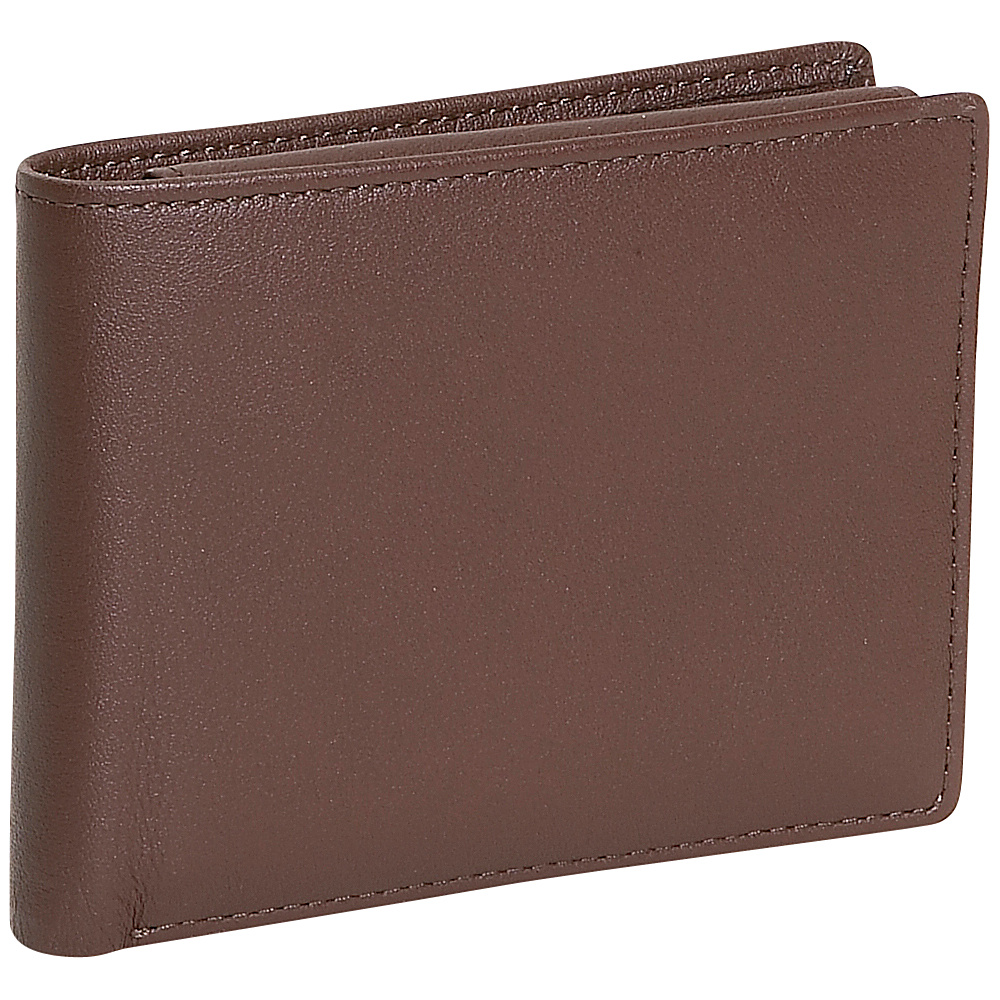 Royce Leather Mens Removable Id Pass Case Wallet - Work Bags & Briefcases, Men's Wallets