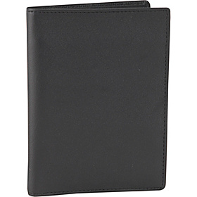 Passport Currency Wallet Black