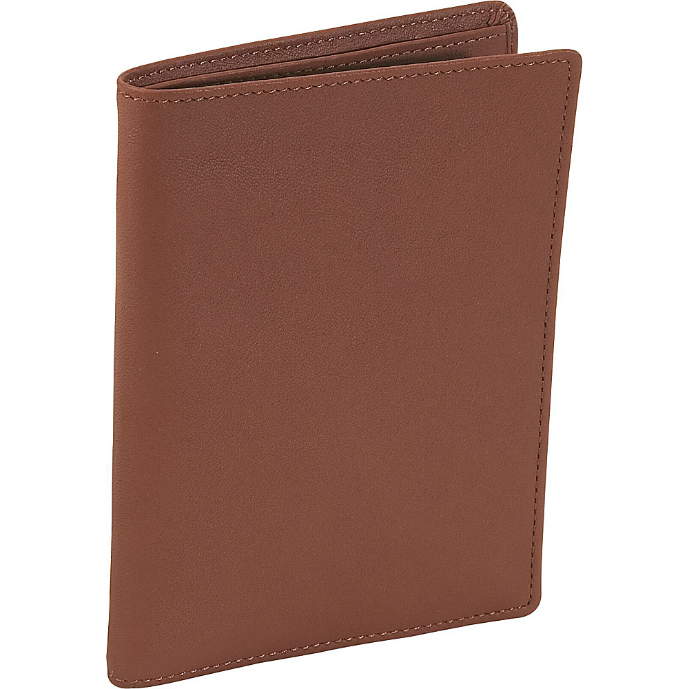 Royce Leather Passport Currency Wallet - Tan - Travel Accessories, Travel Wallets