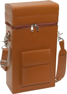 Royce Leather Connoisseur Wine Carrier - Tan