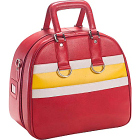 Racing Bowler Red/Yellow
