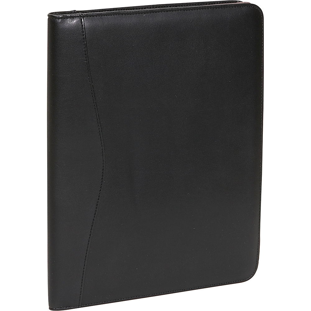 Royce Leather Deluxe Writing Padfolio - Black - Work Bags & Briefcases, Business Accessories