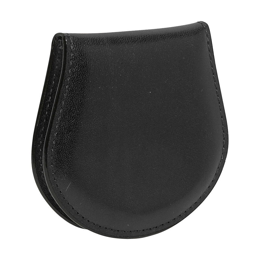 Bosca Old Leather Coin Purse - Black