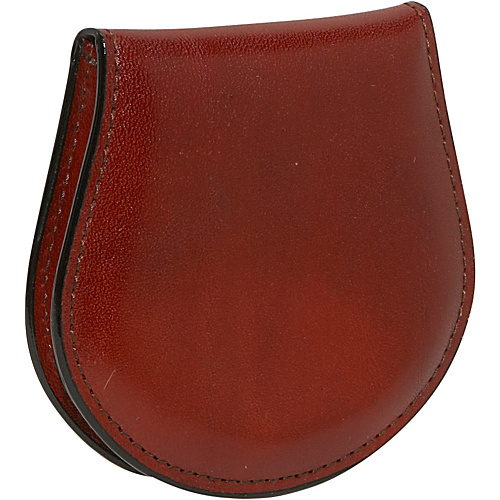 Bosca Old Leather Coin Purse - Cognac