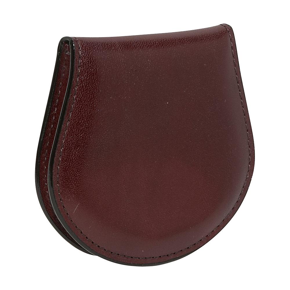 Bosca Old Leather Coin Purse Dark Brown - Bosca Women's Wallets
