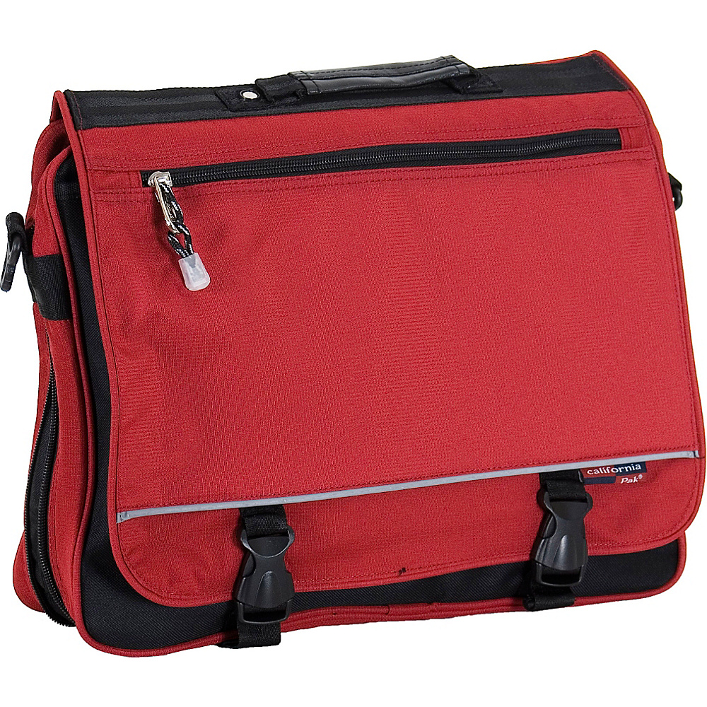 CalPak Negotiator - Deep Red - Work Bags & Briefcases, Messenger Bags