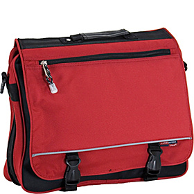 Negotiator Messenger Bag Deep Red