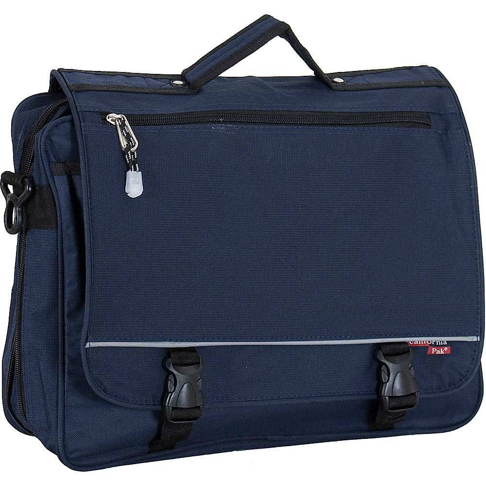 CalPak Negotiator - Navy - Work Bags & Briefcases, Messenger Bags
