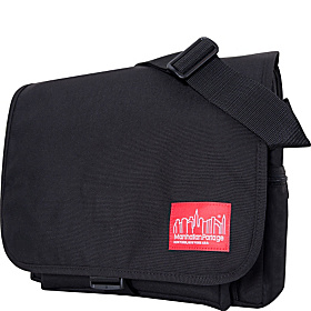The Cornell - Messenger Bag Black