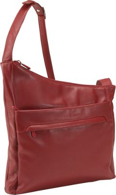 Derek Alexander North/South Angled Hobo - Red