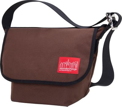 Manhattan Portage Vintage Messenger Bag Dark Brown - Manhattan Portage Messenger Bags