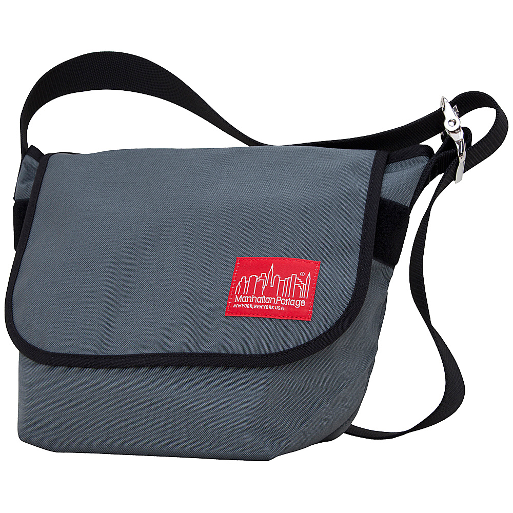 Manhattan Portage Vintage Messenger Bag - Gray - Work Bags & Briefcases, Messenger Bags
