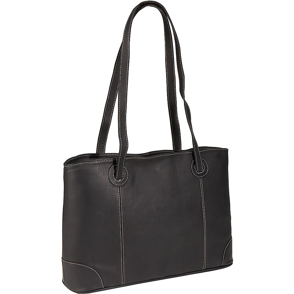 Piel Ladies Laptop Tote - Black - Work Bags & Briefcases, Women's Business Bags