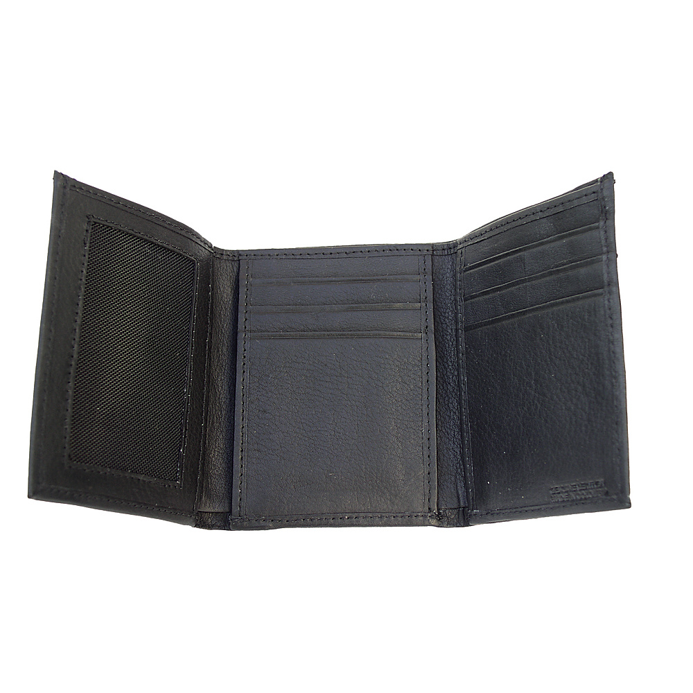 Piel Tri-Fold Wallet - Chocolate