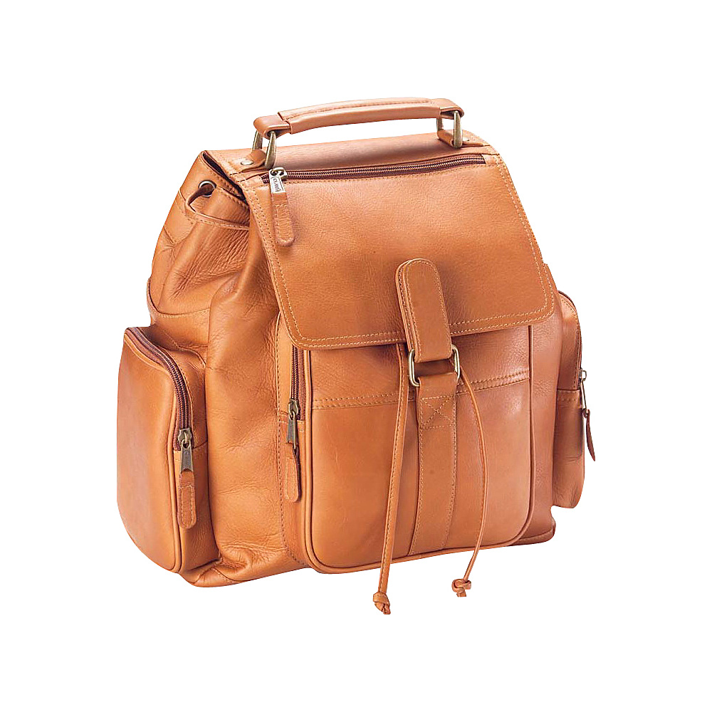 Clava Vachetta Leather Urban Survival Backpack - Backpacks, Everyday Backpacks
