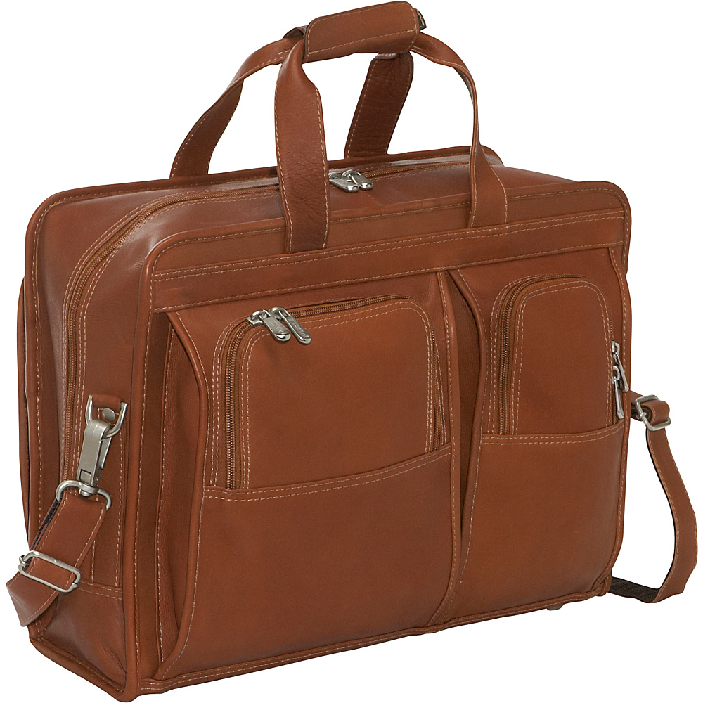 Piel Professional Computer Portfolio - Saddle - Work Bags & Briefcases, Non-Wheeled Business Cases