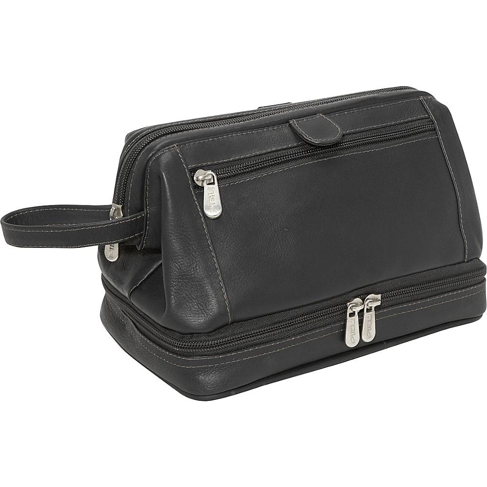 Piel U Frame Utility Kit w/Zip Bottom - Black - Travel Accessories, Toiletry Kits