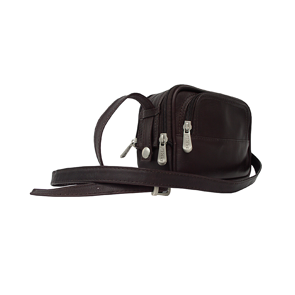Piel Traveler's Camera Bag - Chocolate