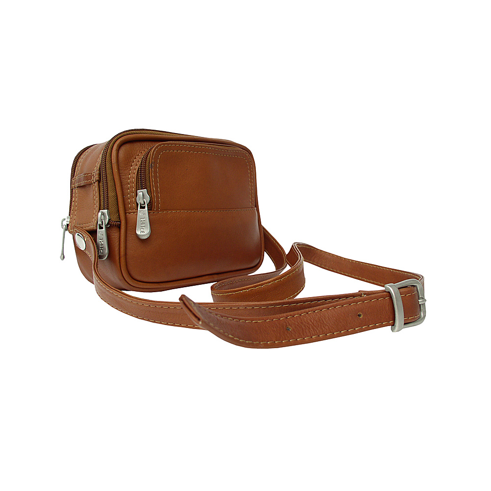 Piel Travelers Camera Bag - Saddle - Technology, Camera Accessories