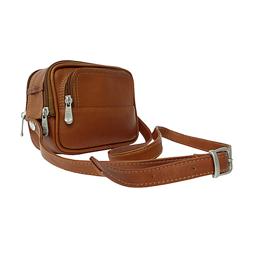 Piel Traveler's Camera Bag - Saddle