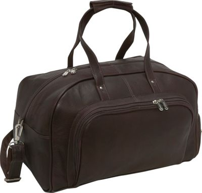 Piel Deluxe Carry-On Duffel - Chocolate