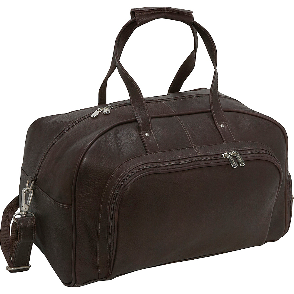 Piel Deluxe Carry-On Duffel - Chocolate - Luggage, Rolling Duffels